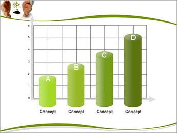 Les mains et les plantes Modèles des présentations  PowerPoint - Diapositives 21