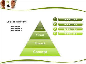Les mains et les plantes Modèles des présentations  PowerPoint - Diapositives 22