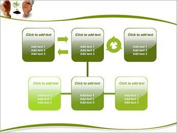 Les mains et les plantes Modèles des présentations  PowerPoint - Diapositives 23