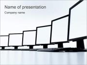 Monitors PowerPoint Templates