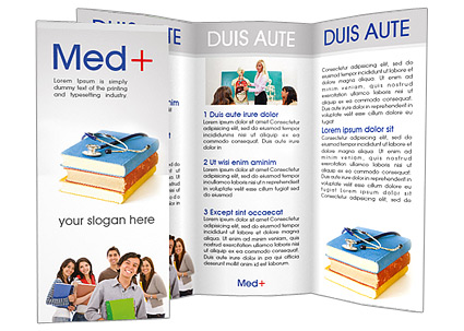 Medical Students Brochure Template Design Id 0000001347