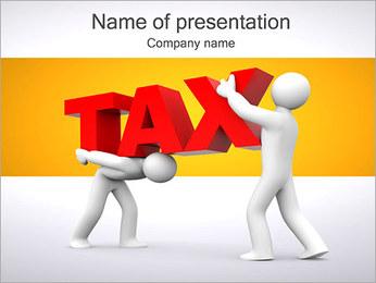 Imposto Modelos de apresentações PowerPoint - Slide 1