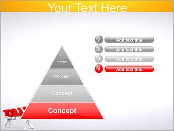 Imposto Modelos de apresentações PowerPoint - Slide 22