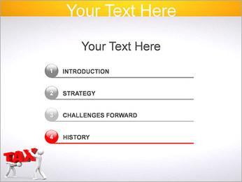 Imposto Modelos de apresentações PowerPoint - Slide 3