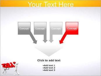 Imposto Modelos de apresentações PowerPoint - Slide 8