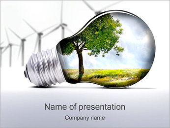 Environmental Energy PowerPoint Template