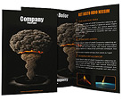 Atomic Bomb Brochure Templates