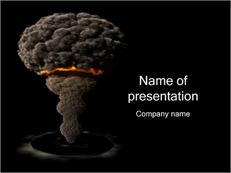 Atomic bomb powerpoint template backgrounds id 0000001356 atomic bomb powerpoint templates toneelgroepblik Images