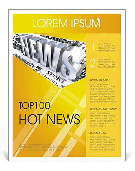 news flyer template design id 0000001363 smiletemplates com