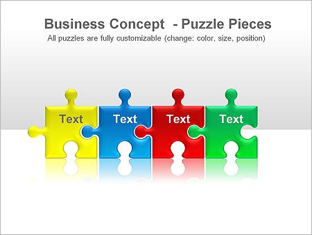 puzzle ppt diagrams amp chart amp design id 0000001365