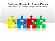 Puzzle PPT Diagrams & Charts