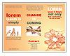Bras Autour Les brochures publicitaire