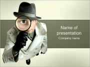 Detective PowerPoint Templates