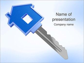 ハウスキー PowerPointプレゼンテーションのテンプレート