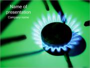 Gas Flame PowerPoint Templates