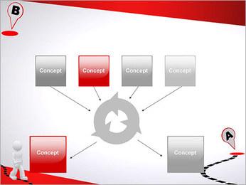 Do ponto A ao B Modelos de apresentações PowerPoint - Slide 10