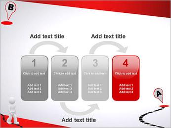 Do ponto A ao B Modelos de apresentações PowerPoint - Slide 11