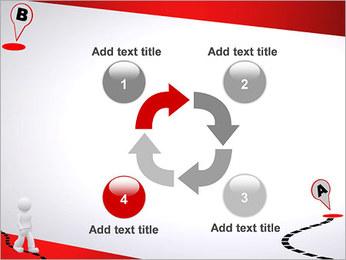 Do ponto A ao B Modelos de apresentações PowerPoint - Slide 14