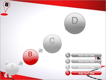 Do ponto A ao B Modelos de apresentações PowerPoint - Slide 15