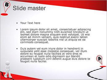 Do ponto A ao B Modelos de apresentações PowerPoint - Slide 2