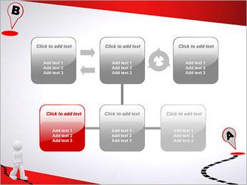 Do ponto A ao B Modelos de apresentações PowerPoint - Slide 23
