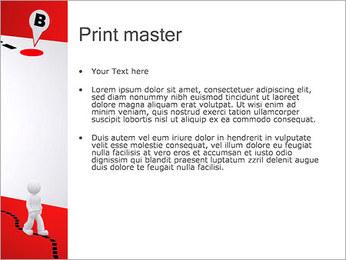 Do ponto A ao B Modelos de apresentações PowerPoint - Slide 24