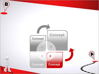Do ponto A ao B Modelos de apresentações PowerPoint - Slide 5