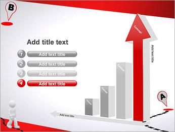 Do ponto A ao B Modelos de apresentações PowerPoint - Slide 6
