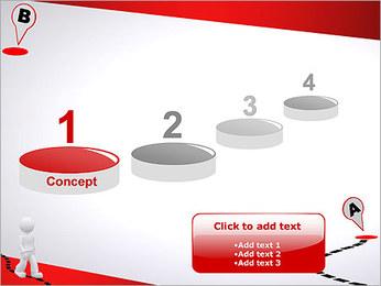 Do ponto A ao B Modelos de apresentações PowerPoint - Slide 7
