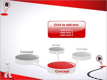 Do ponto A ao B Modelos de apresentações PowerPoint - Slide 9