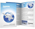 Air Transport Brochure Templates