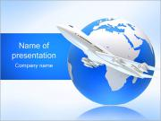 Air Transport PowerPoint presentationsmallar