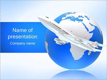 Air Transport PowerPoint Template - Slide 1