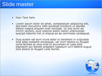Air Transport PowerPoint Template - Slide 2