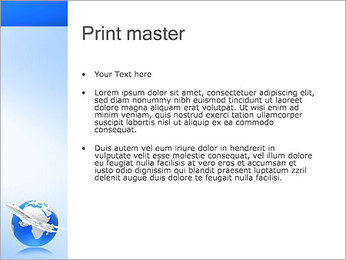 Air Transport PowerPoint Template - Slide 24