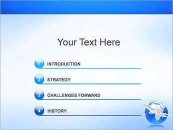 Air Transport PowerPoint Template - Slide 3