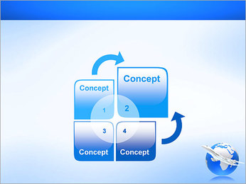 Air Transport PowerPoint Template - Slide 5
