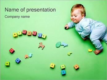 Jouer bébé Modèles des présentations  PowerPoint