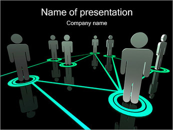 People Network PowerPoint Template