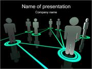 People Network PowerPoint Templates