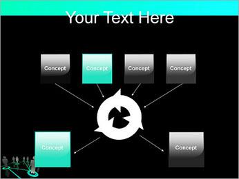 Pessoas Rede Modelos de apresentações PowerPoint - Slide 10