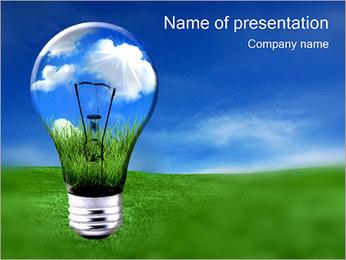 Экологический энергии Шаблоны презентаций PowerPoint