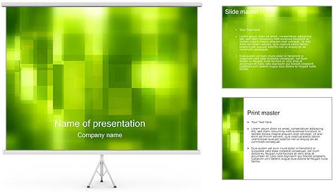 Green Design Modèles des présentations  PowerPoint