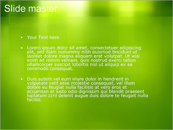 Green Design Modèles des présentations  PowerPoint - Diapositives 2
