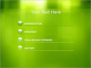 Green Design Modèles des présentations  PowerPoint - Diapositives 3