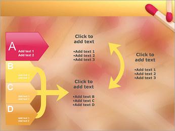 Allumettes Modèles des présentations  PowerPoint - Diapositives 16