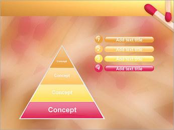 Allumettes Modèles des présentations  PowerPoint - Diapositives 22