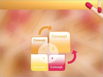 Allumettes Modèles des présentations  PowerPoint - Diapositives 5