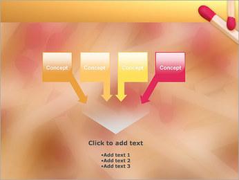 Allumettes Modèles des présentations  PowerPoint - Diapositives 8