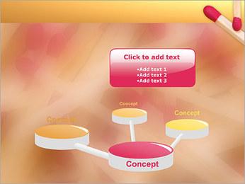 Allumettes Modèles des présentations  PowerPoint - Diapositives 9